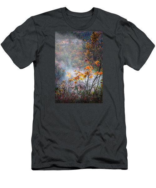 Misty Maple Men's T-Shirt (Slim Fit) by Diana Boyd