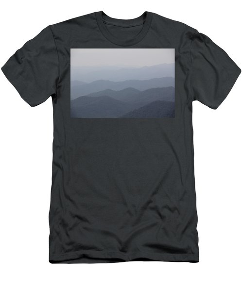 Misty Mountains Men's T-Shirt (Athletic Fit)