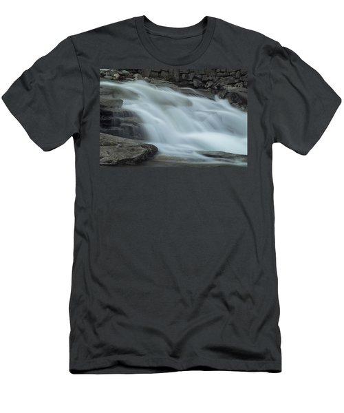 Misty Stickney Brook Men's T-Shirt (Slim Fit) by Tom Singleton