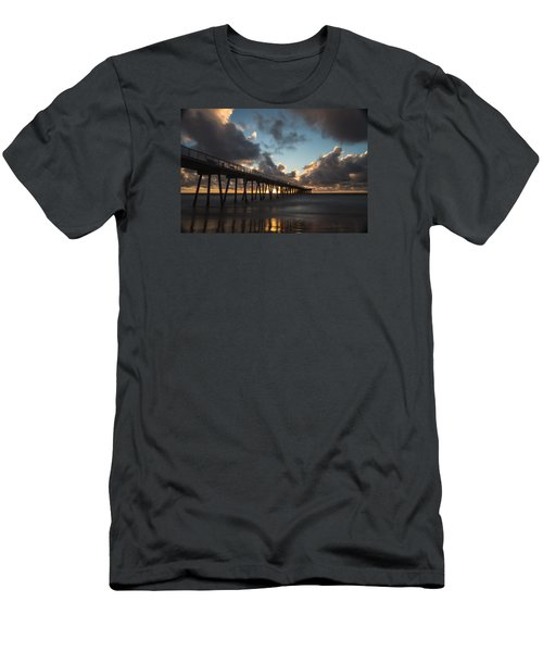 Misty Sunset Men's T-Shirt (Slim Fit) by Ed Clark