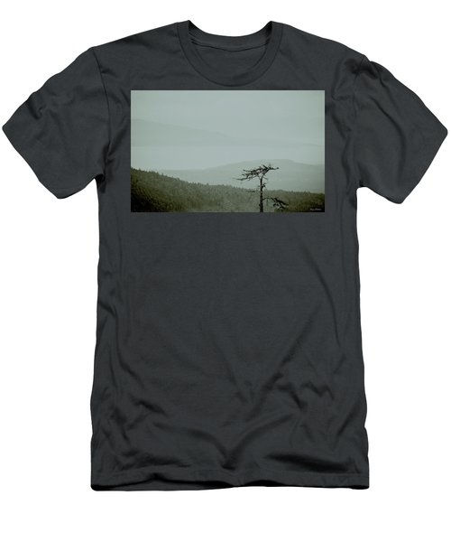 Misty View Men's T-Shirt (Athletic Fit)