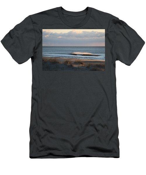 Misty Waves Men's T-Shirt (Athletic Fit)
