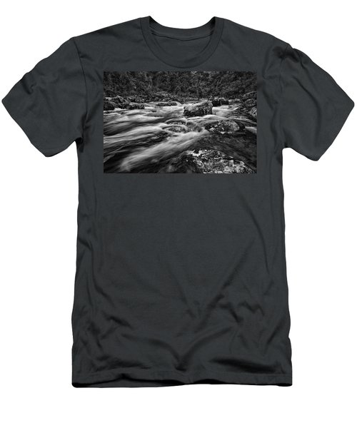 Mixed Emotions Men's T-Shirt (Slim Fit) by Mark Lucey