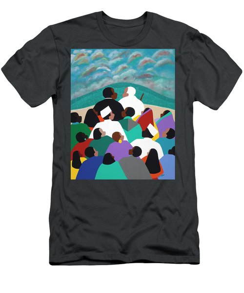 Mlk Called To Serve Men's T-Shirt (Athletic Fit)
