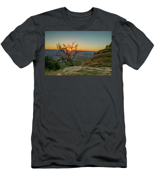 Men's T-Shirt (Slim Fit) featuring the photograph Moab Tree by Kristal Kraft