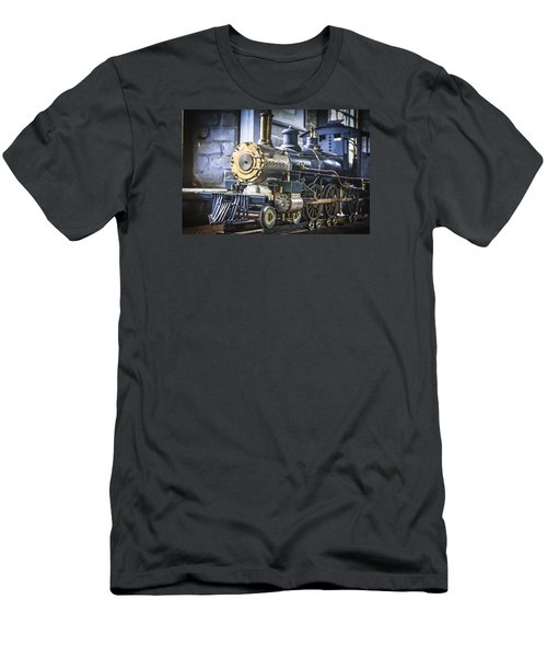 Model Train Men's T-Shirt (Athletic Fit)