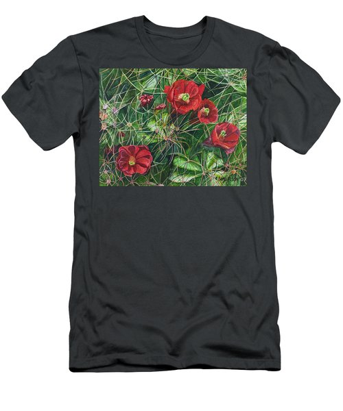 Mohave Mound Cactus Men's T-Shirt (Athletic Fit)