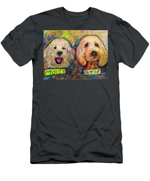 Molly And Katie Men's T-Shirt (Athletic Fit)