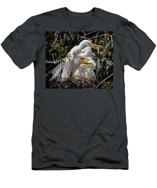 Mom's Watchful Eye Men's T-Shirt (Athletic Fit)