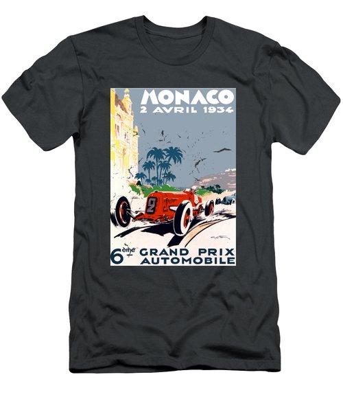Monaco 1934 Men's T-Shirt (Athletic Fit)