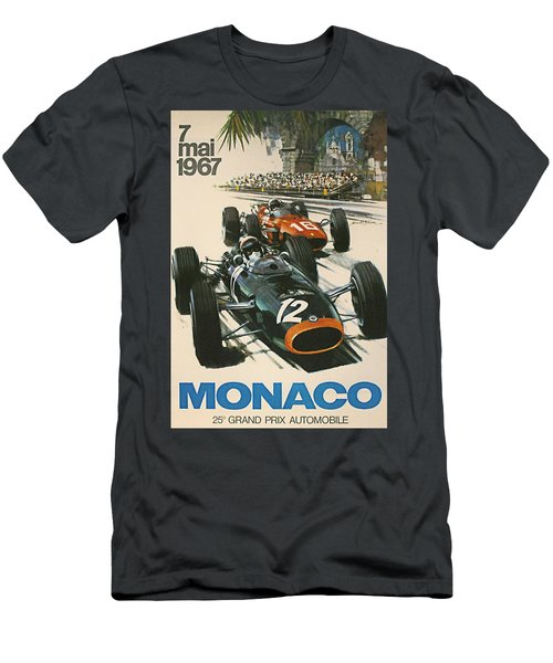 Monaco Grand Prix 1967 Men's T-Shirt (Athletic Fit)