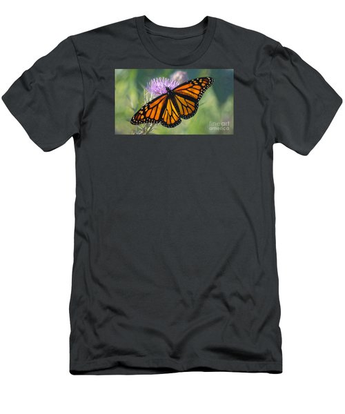 Monarch's Beauty Men's T-Shirt (Slim Fit) by Rima Biswas