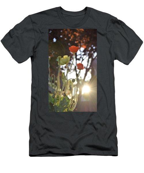 Monday Morning Sunrise Men's T-Shirt (Slim Fit) by John Glass