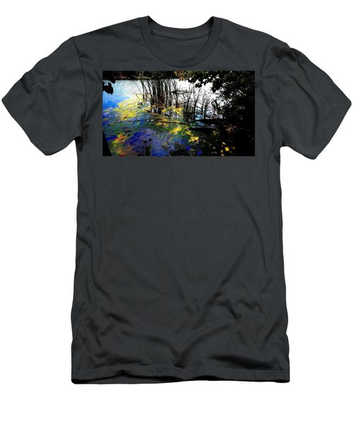 Monet Ice Age Pond Men's T-Shirt (Athletic Fit)