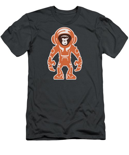 Monkey Crisis On Mars Men's T-Shirt (Athletic Fit)