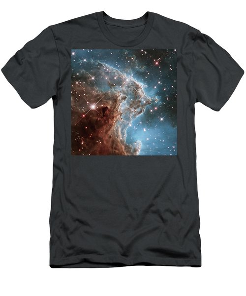Men's T-Shirt (Slim Fit) featuring the photograph Monkey Head Nebula by Marco Oliveira