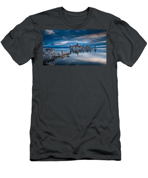 Mono Lake Tufas Men's T-Shirt (Slim Fit) by Ralph Vazquez
