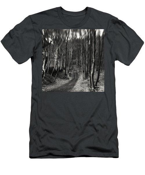 #monochrome #lensbaby #composerpro Men's T-Shirt (Athletic Fit)