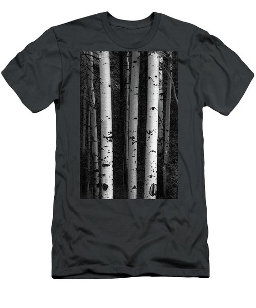 Men's T-Shirt (Athletic Fit) featuring the photograph Monochrome Wilderness Wonders by James BO Insogna