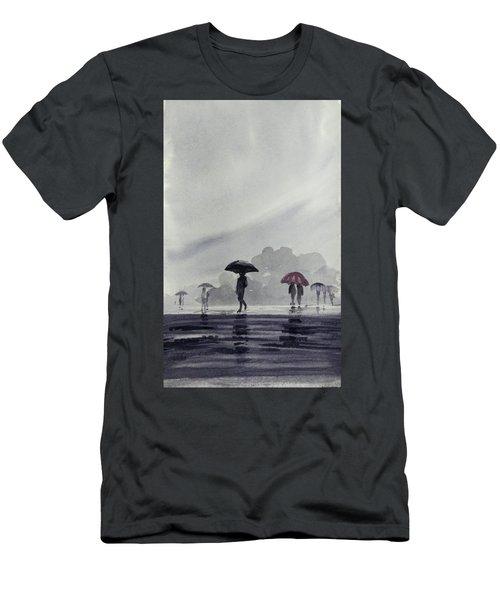 Monsoons Men's T-Shirt (Athletic Fit)