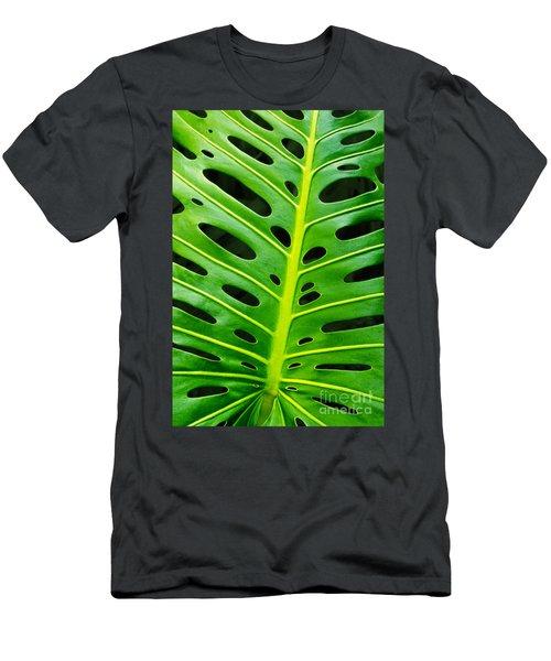 Monstera Leaf Men's T-Shirt (Athletic Fit)