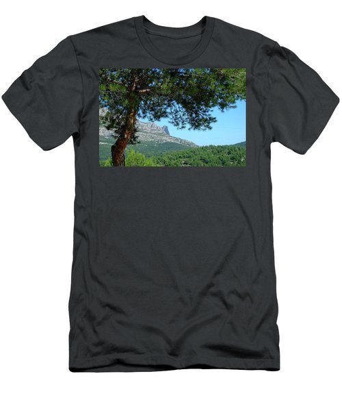Men's T-Shirt (Athletic Fit) featuring the photograph Mont Puget Marseille by August Timmermans