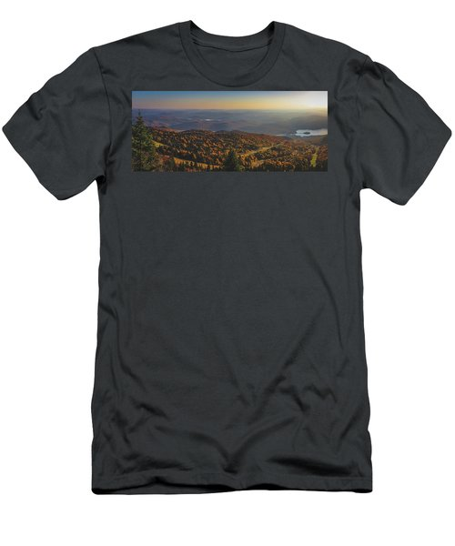 Mont Tremblant Summit Panorama Men's T-Shirt (Athletic Fit)
