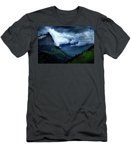 Montana Mountain Vista Men's T-Shirt (Athletic Fit)