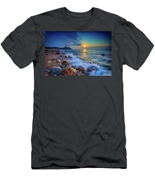 Montauk Sunrise Men's T-Shirt (Athletic Fit)