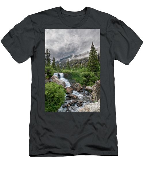 Men's T-Shirt (Athletic Fit) featuring the photograph Monte Cristo Gulch by Bitter Buffalo Photography