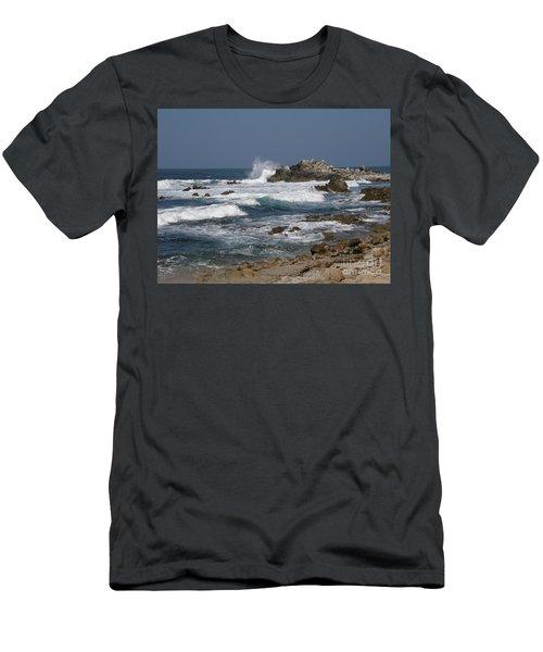 Monterey Coastline Men's T-Shirt (Athletic Fit)