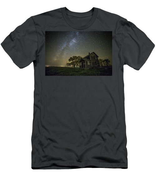 Men's T-Shirt (Slim Fit) featuring the photograph Montrose Orionid by Aaron J Groen