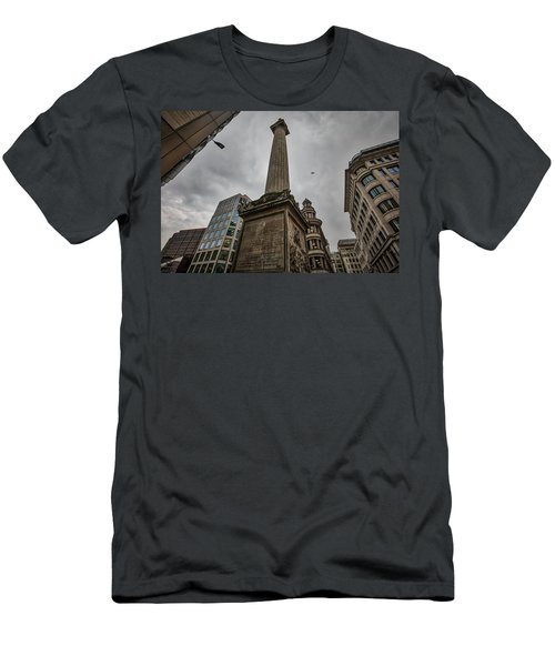 Monument To The Great Fire Of London Men's T-Shirt (Athletic Fit)