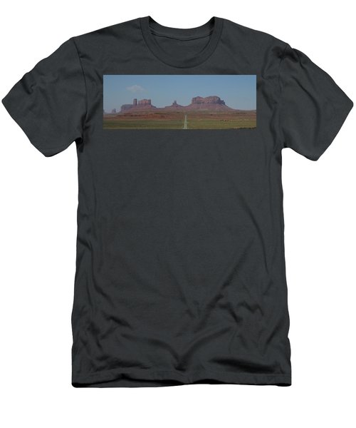 Monument Valley Navajo Tribal Park Men's T-Shirt (Slim Fit) by Christopher Kirby