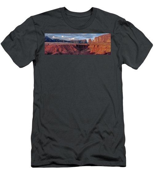 Monument Valley Sunrise Men's T-Shirt (Athletic Fit)