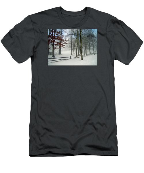 Men's T-Shirt (Slim Fit) featuring the photograph Mood Lifting by Betsy Zimmerli