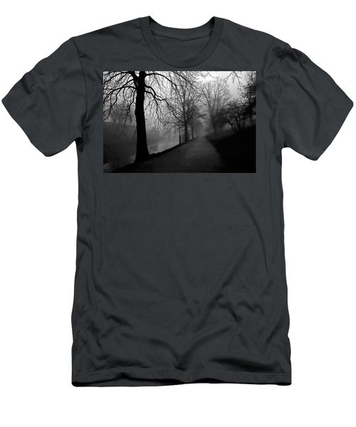Moody And Misty Morning Men's T-Shirt (Slim Fit) by Inge Riis McDonald