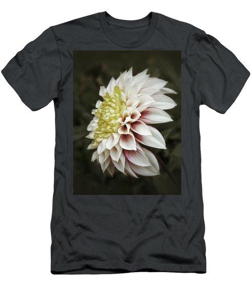 Moody Dahlia  Men's T-Shirt (Athletic Fit)