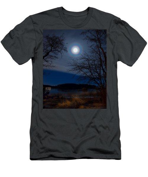 Moon Corona Men's T-Shirt (Athletic Fit)