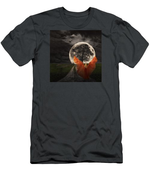 Moon Goddess Men's T-Shirt (Athletic Fit)