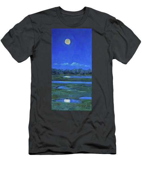 Moon Light And Mud Puddles Men's T-Shirt (Slim Fit) by Billie Colson