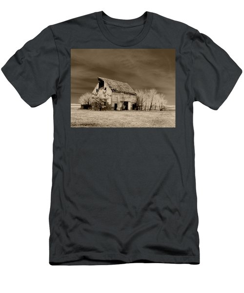 Moon Lit Sepia Men's T-Shirt (Athletic Fit)