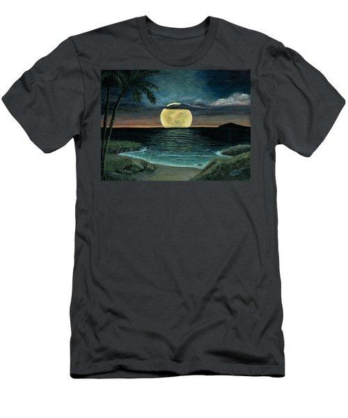 Moon Of My Dreams IIi Men's T-Shirt (Slim Fit) by Sheri Keith