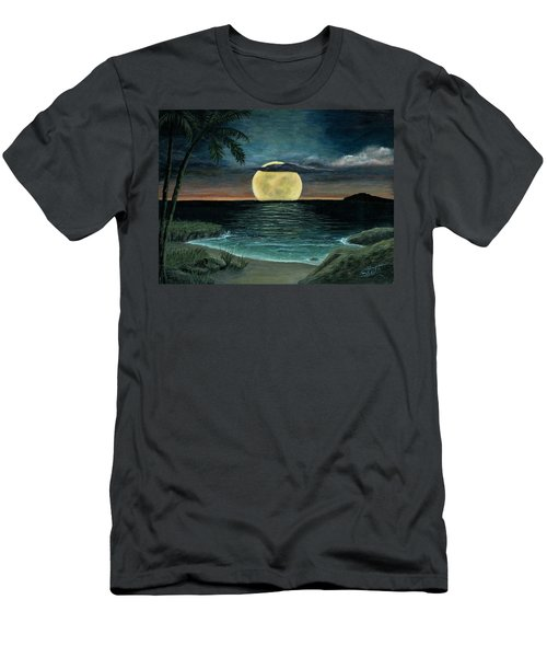 Moon Of My Dreams IIi Men's T-Shirt (Athletic Fit)