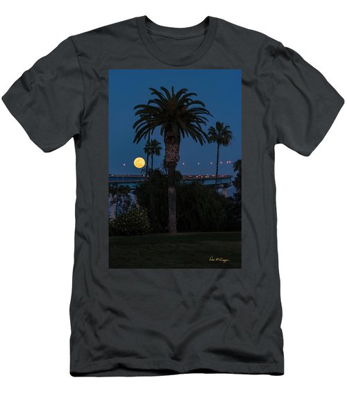 Moon On The Rise Men's T-Shirt (Athletic Fit)
