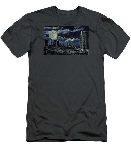 Moon Over Tampa Two Men's T-Shirt (Athletic Fit)