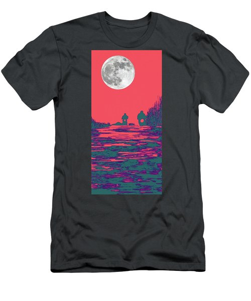 Moon Racers Men's T-Shirt (Athletic Fit)