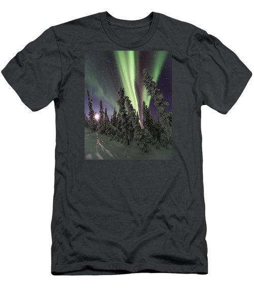 Moon Shadows Men's T-Shirt (Athletic Fit)