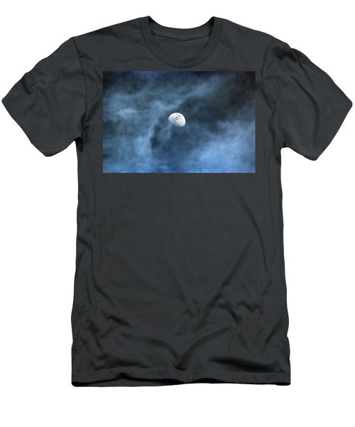 Moon Smoke Men's T-Shirt (Athletic Fit)