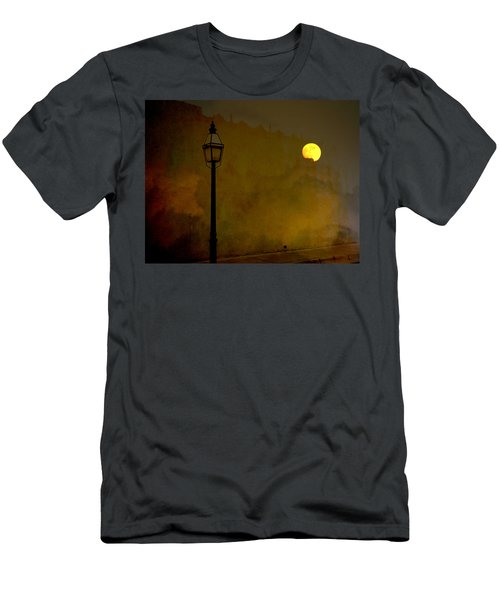 Moon Walker Men's T-Shirt (Athletic Fit)